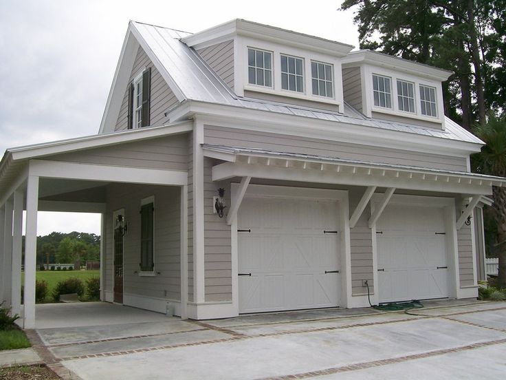 Garage with living quarters kits house plans prefab pole for Four car garage with apartment