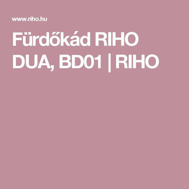 Fürdőkád RIHO DUA, BD01 | RIHO