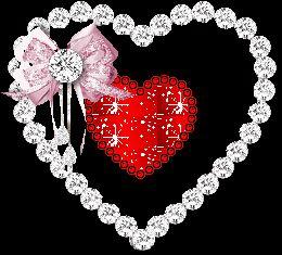 Hearts glitter gifs