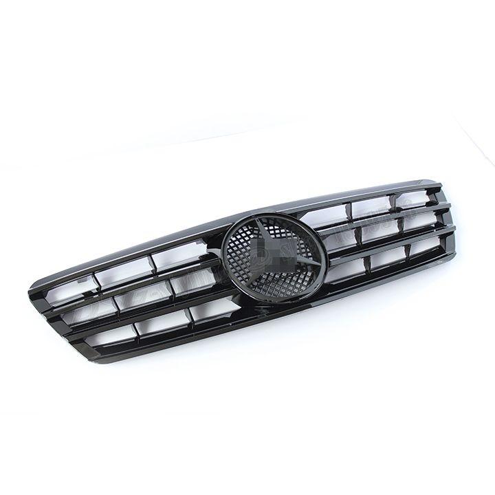 Mercedes W203 replacement ABS plastic grill for Benz 2000   2006 C180 C200 C220 C240 C270 C280 C320 C350 bumper