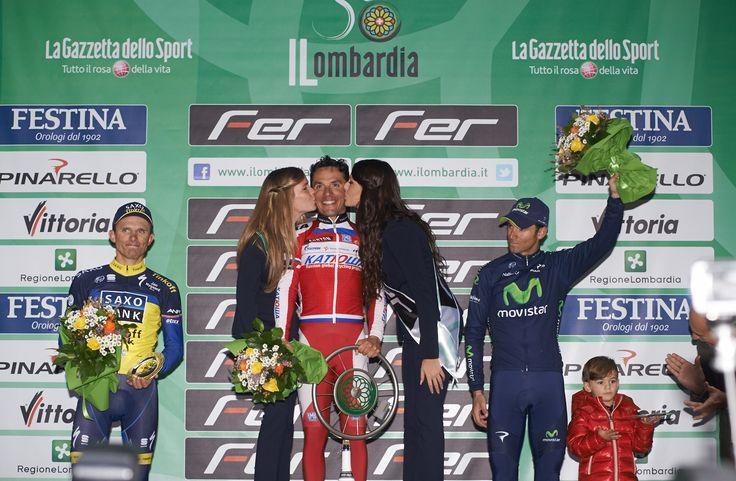 Rodriguez vince per la seconda volta consecutiva il Lombardia