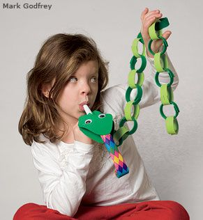 Year of the SNAKE:  Snake Puppet - National Wildlife Federation