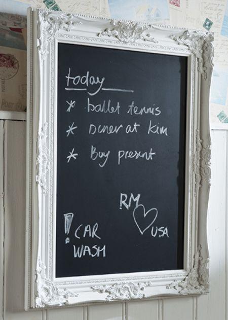 €99,95 French Blackboard M white #living #interior #rivieramaison