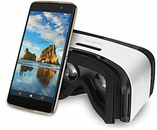 Alcatel IDOL 4S with VR Goggles