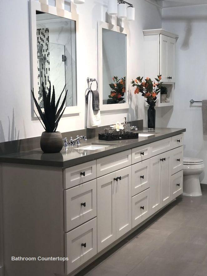 New Bathroom Countertop Ideas Bathroomcountertop Double Vanity