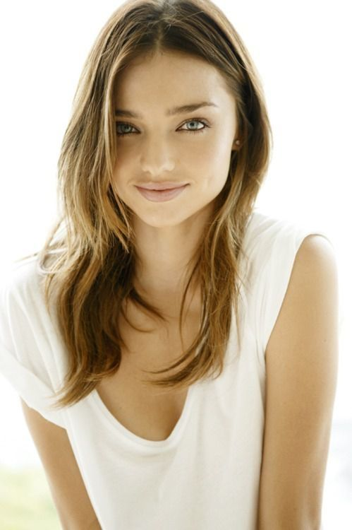 Miranda Kerr fresh smile