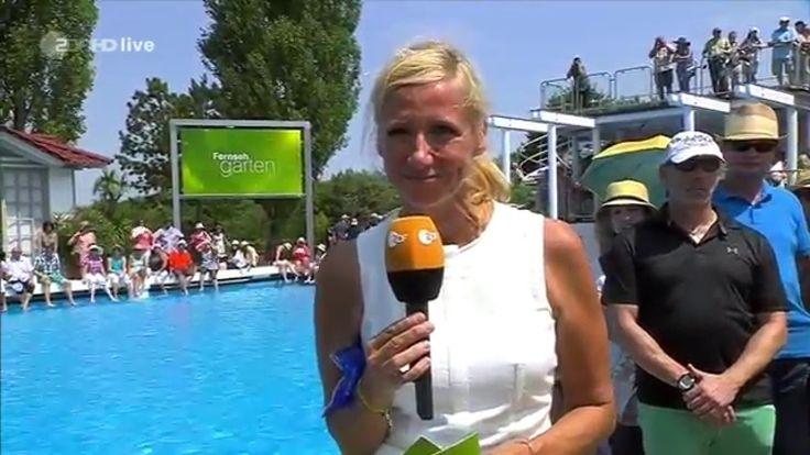 Der ZDF-Fernsehgarten muss dem Fußball weichen. Um 12:00 sendet das ZDF die Spiel der Frauen EM zwischen Deutschland und Dänemark.