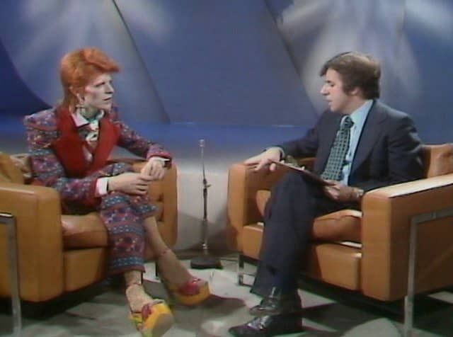 Russell Harty & David Bowie
