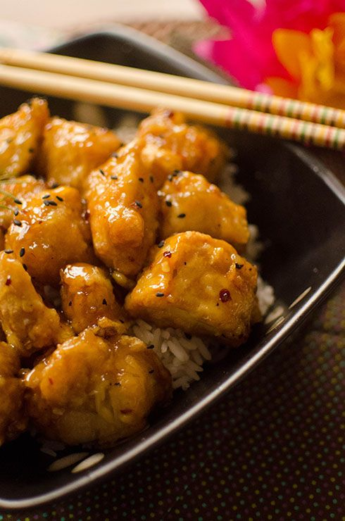 Asian Honey Ginger Chicken