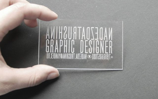 The 40 best business cards of the 2012 - Blog of Francesco Mugnai