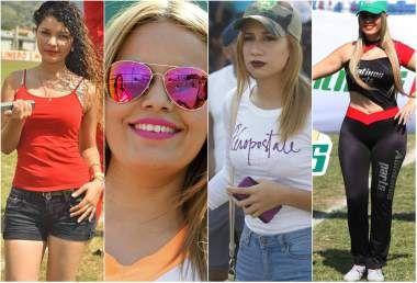 La jornada 15 de la Liga Nacional de Honduras fue emocionante y en las canchas además se vieron bellezas que no te puedes perder. Hubo de todo, entre ellas destacó una chica nacida en Israel.