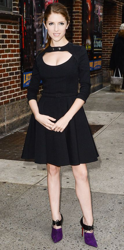 Look of the Day - December 18, 2014 - Anna Kendrick from #InStyle