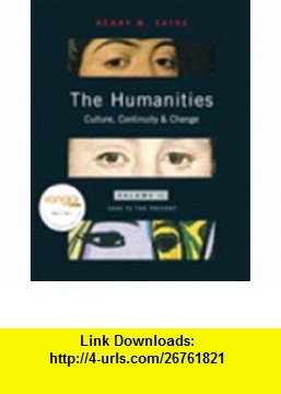 9 best electronic e book images on pinterest before i die the humanities culture continuity and change volume 2 reprint with myhumanitieskit student access code card 9780205723393 henry m sayre isbn 10 fandeluxe Image collections