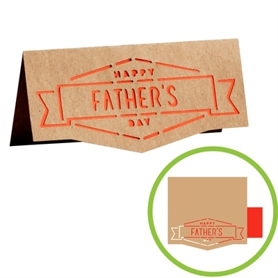 The Fatheru0027s Day Card U2013 Banner Is So Chic! Create This Simple Card For Your  Dad Using Our Online Design Tool, Cricut Craft Room! Part 43