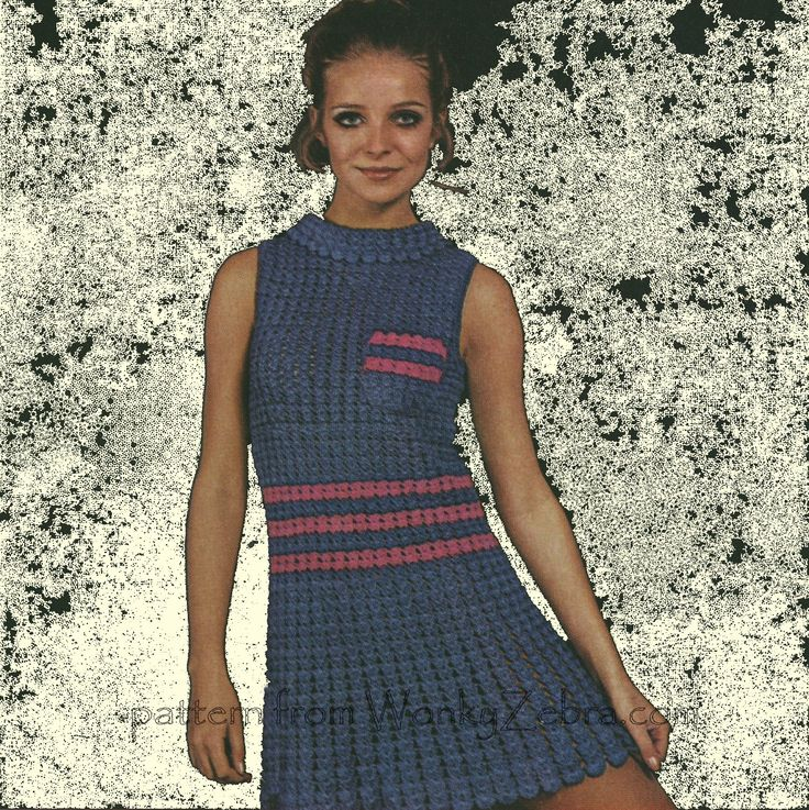 A vintage crochet pattern Barbara Warner C89 . To buy;$3 from WonkyZebra.com [number W160]