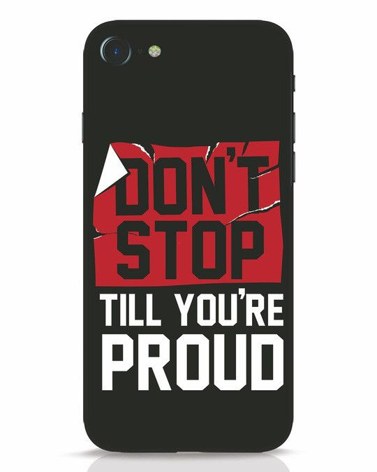 pretty nice 10088 66ffc Don't Stop iPhone 7 Mobile Cover | IPhone 7 Cover Designs | Mobile ...