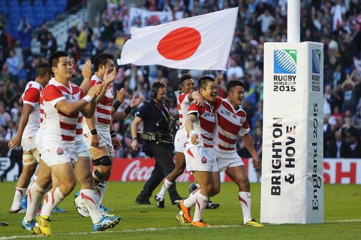 Eddie Jones' Japan conjure spectacular 34-32 upset over South Africa