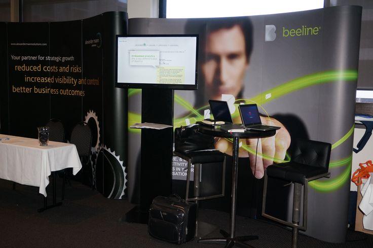 Beeline's exhibition stand at #CWF2014