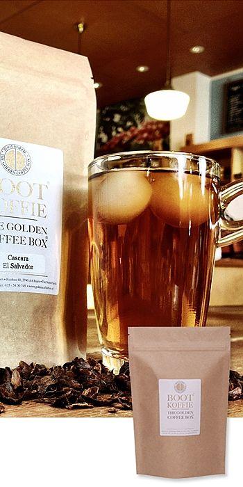 Cascara, koffie of thee? - 125 grams verpakking