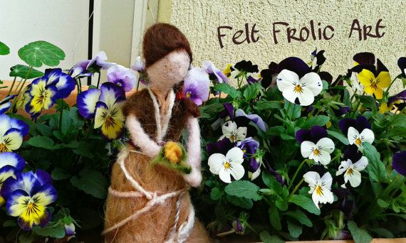 Hey, I found this really awesome Etsy listing at https://www.etsy.com/listing/270491683/handmade-needle-felted-doll-felted-fairy