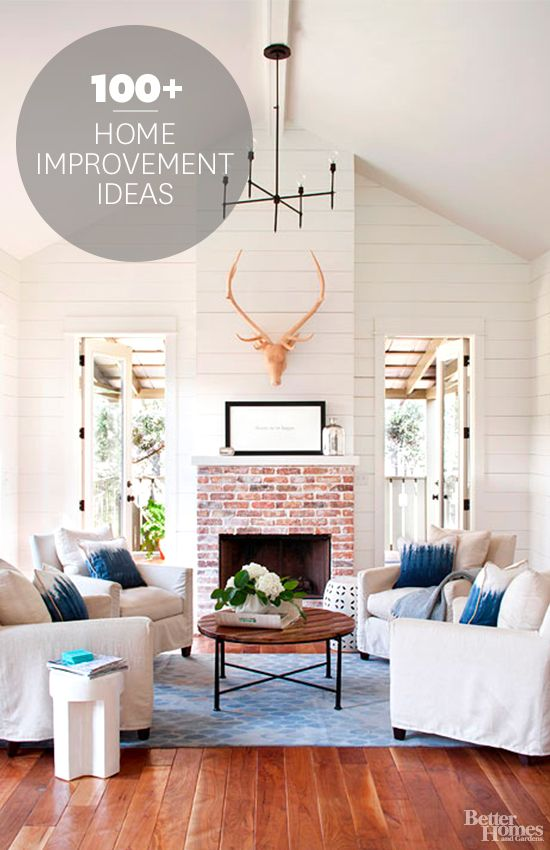 Fall in love with your home all over again with these home improvement ideas: