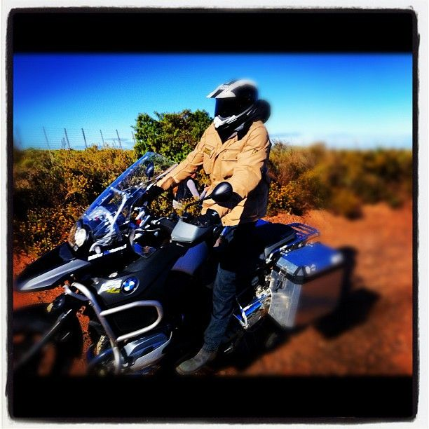 Charley Boorman off road in South Africa