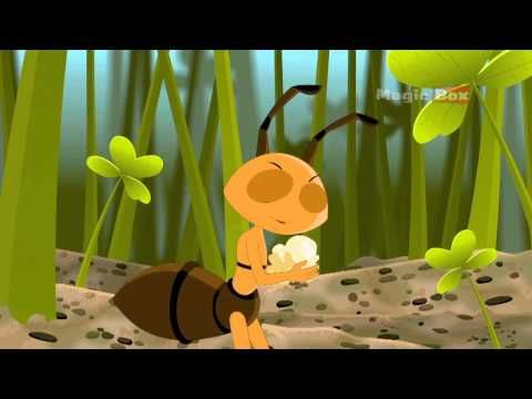 ant and the grasshopper animated story, goes great with my insect unit.