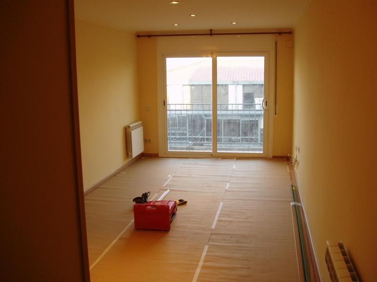 Alisado y pintura alisado y pintura alisar paredes para un piso de 70m2 comedor 3 - Pegamento de escayola para alisar paredes ...