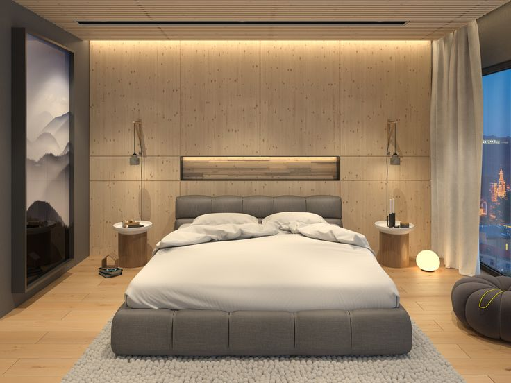 modern bedroom | VIZN studio