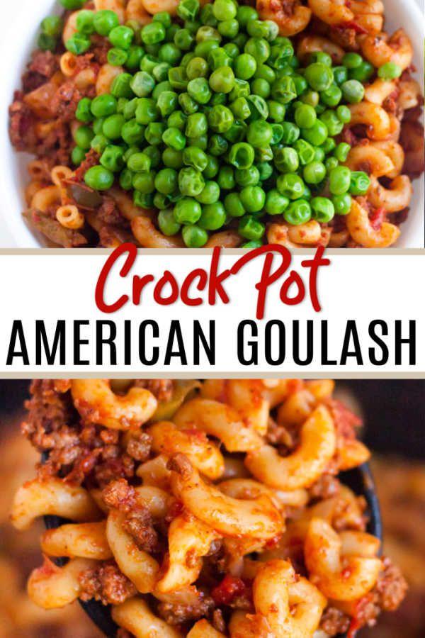 American Goulash Crock Pot Recipes Easy Crockpot Goulash Recipe Recipe Goulash Recipes Crockpot Recipes Beef Crockpot Goulash Recipe