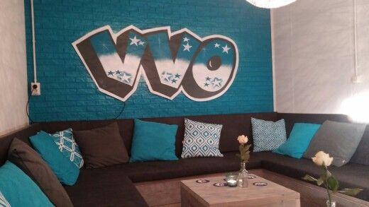 Onze prachtige nieuwe loungehoek!