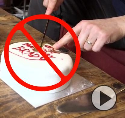 You've Been Cutting Cake Wrong Your Whole Life! Watch This.