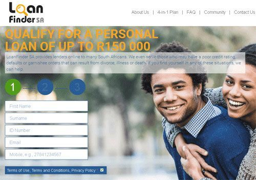Getting Personal Loans Up To R150,000 Through LoanFinder Has Never Been Easier