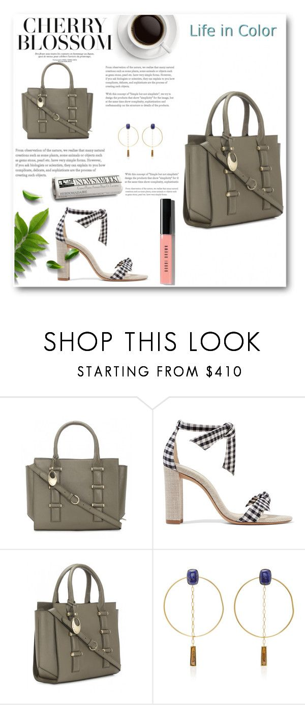 """""""Blossom"""" by phiverivers ❤ liked on Polyvore featuring Alexandre Birman, Isabel Marant and Bobbi Brown Cosmetics"""