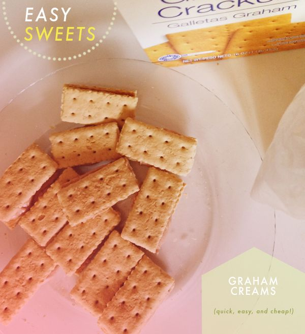 A Sweet Treat: Graham Creams   And Then We Saved
