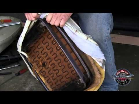 How To Revamp Car Upholstery - Restoration Rollout 13 - YouTube