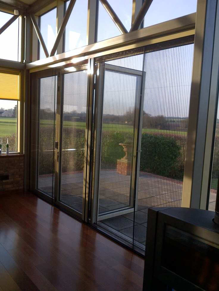 Pleated screen x 4m insect screens for windows and for Window insect screen