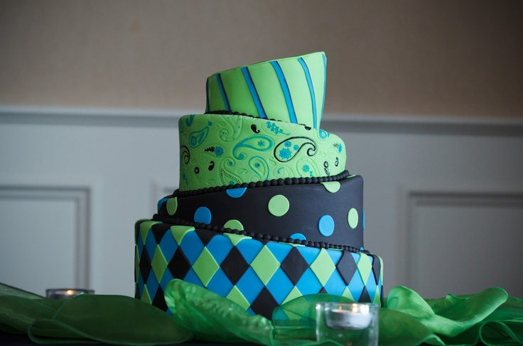 lime green and black wedding cakes 18 best turquoise and green wedding images on 16893