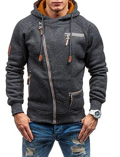 Autumn Winter Men Knit Sweater Coat Thickening Warm Zipper Long Sleeve Outerwear