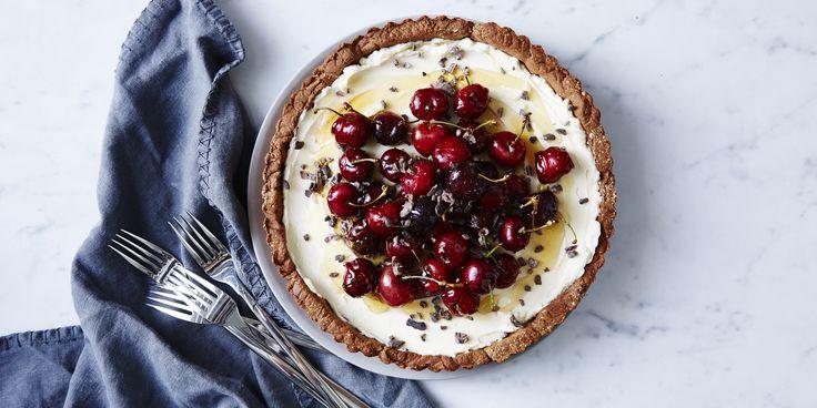 Choc Cherry Tart - I quit sugar