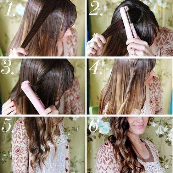 Como hacer un lindo peinado con la plancha