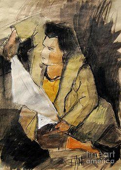 Mona Edulesco - Helene #12 - figure series