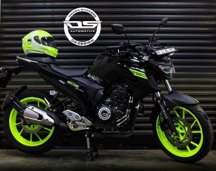 Yamaha Fz25 Vr46 Edition Motos Yamaha Fz16 Motos Personalizadas