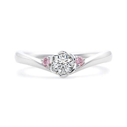 フローラ FLO-RB プラチナ| 結婚指輪・婚約指輪(ブライダル・エンゲージリング)のトレセンテ