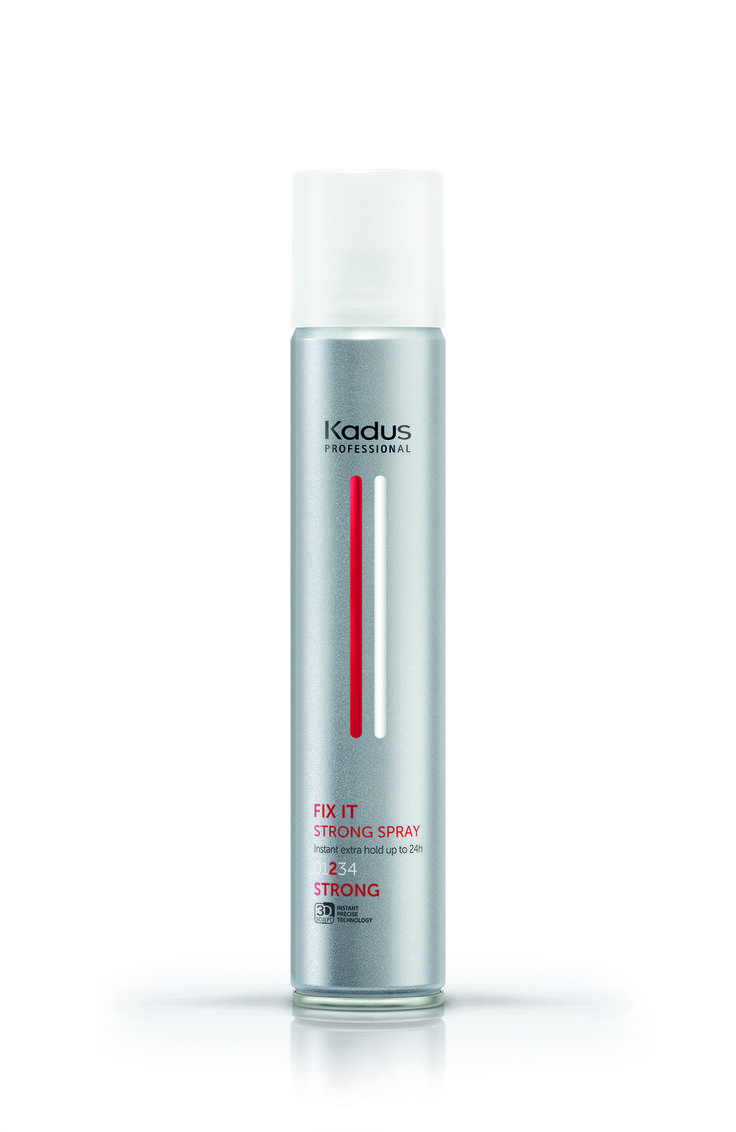 Fix it Strong spray hairstyling finish hair