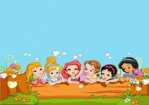 Images of the Disney Princess Babies.