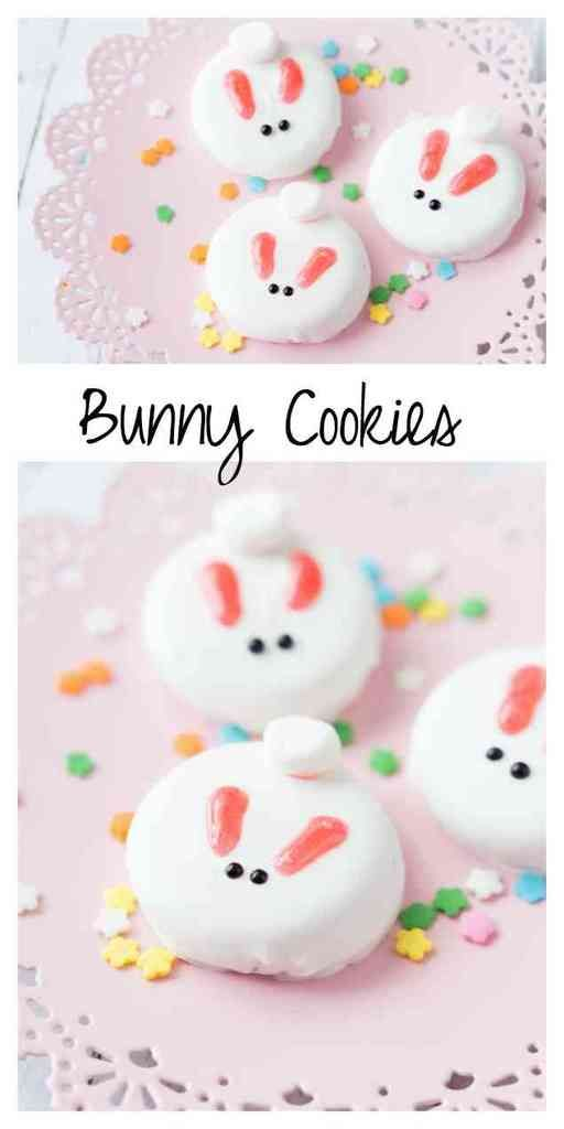 Easy Easter treats that kids can make -- even on their own! Bunny Cookies at Made to be a Momma