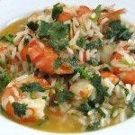 Imagem de Arroz com camarão   Food From Portugal