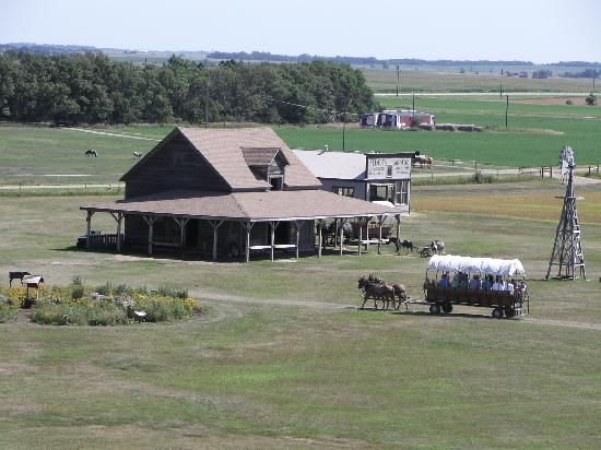 Ingalls Homestead - Laura's Living Prairie. Lots of hands on activities, wagon rides and more. You can even spend the night in a covered wagon! Near DeSmet, SD.