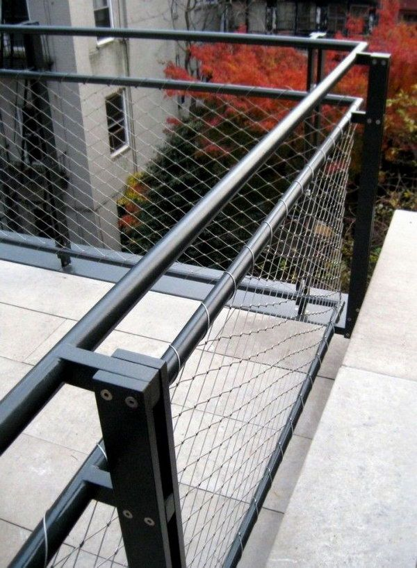 Metal Wire And Steel Deck Railing Guard Rail Stainless Rails Are Keeping Hot Since They Inexpensive Stylish D Remodeling